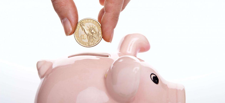 spending leaks vs saving piggy bank