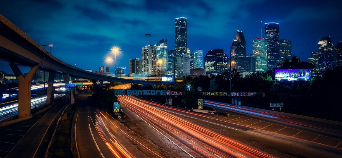 houston-at-night-cheapest-texas-cities